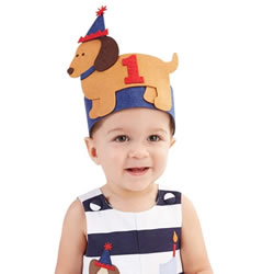 Dachshund Baby Birthday Hat