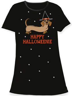 Happy Halloweenie Nightshirt
