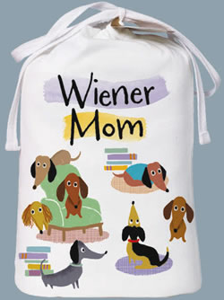Weiner Mom Nightshirt In Bag