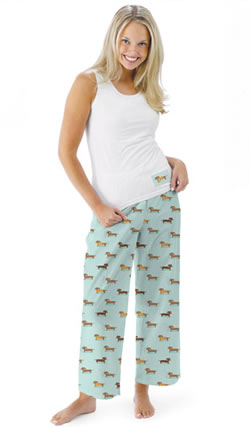 Dachshund Pajamas Full Length