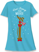 Don't Freeze Your Weenie Nightshirt