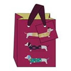 Small Dachshund Giftbag