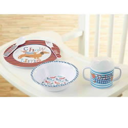 Dachshund Infant Feeding Set