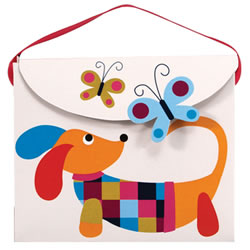 Dachshund Play Purse Gift Bag