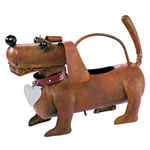 Metal Dachshund Watering Can