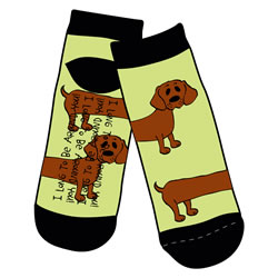 I Long To Be Around You Socks