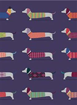 Dachshund Gift Wrapping Paper