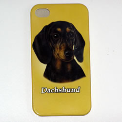 Dachshund iPhone Cover Black/tan