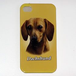 Dachshund iPhone Cover Red