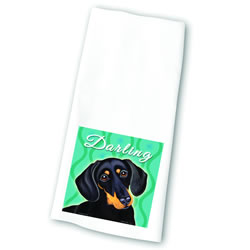 Darling Dachshund Towel
