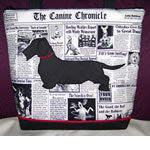 Wirehaired Dachshund Handbag