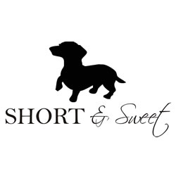 Short And Sweet Dachshund Window Decals